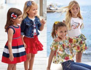 dětské oblečení pro dívky mayoral